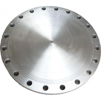 Заглушка фланцевая 600 ру 10 стальная атк 24.200 02 90