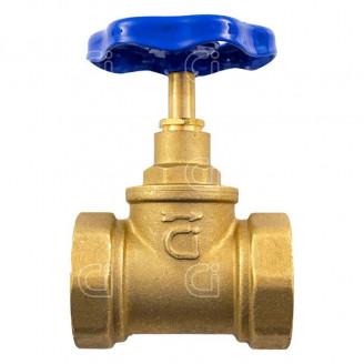 Вентиль 40 15Б3р клапан запорный латунный