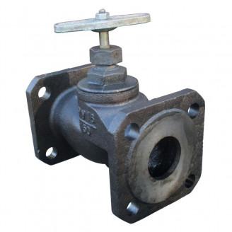 Вентиль 50 15кч19п клапан запорный чугунный фланцевый