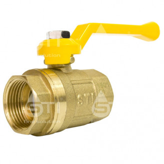 Кран 20 11Б27п1 шаровый муфтовый латунный для газа