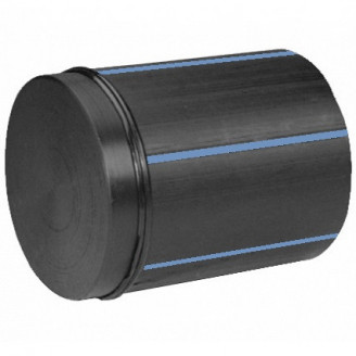 Заглушка 400 ПЭ100 SDR 17 сварная сегментная полиэтиленовая