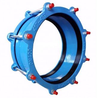 Муфта соединительная dn 400 ДРК 400-429 pn 10/16 для стальных и чугунных труб