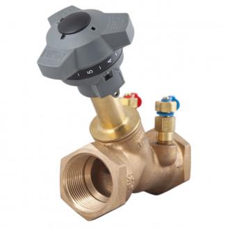 Клапан 20 PN 25 балансировочный резьбовой бронзовый