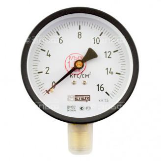 Манометр МТ 100М 1,0МПа метрическая резьба - М20х1.5